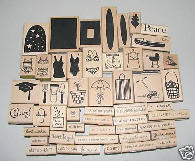 Pinterest as scrapbooking the red cedar for Custom craft rubber stamps