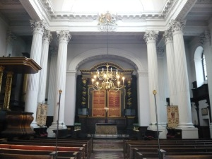 St. Mary Woolnoth Interior